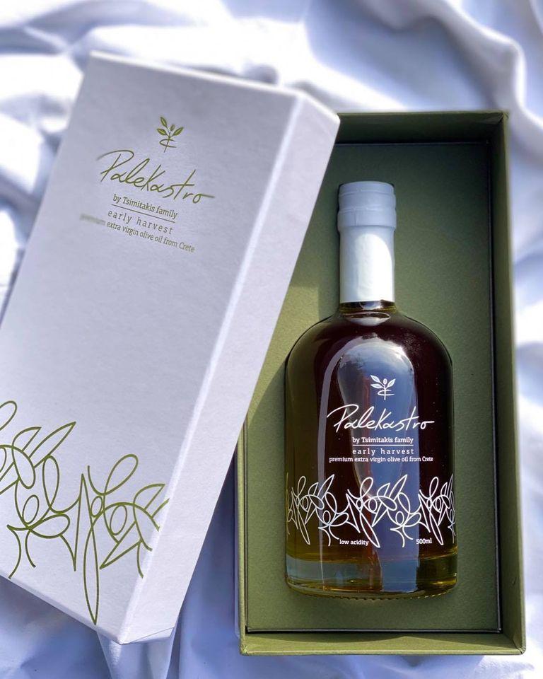 coffret box huile d'olive